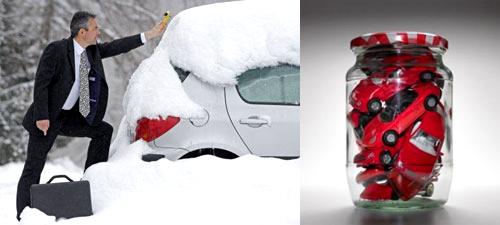 При длительном зимнем хранении автомобиль должен быть надежно законсервирован