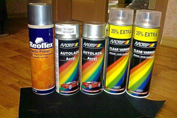 Краска для бампера