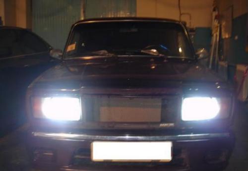 Современные ксеноновые лампы можно без хлопот установить даже на отечественную классику ВАЗ
