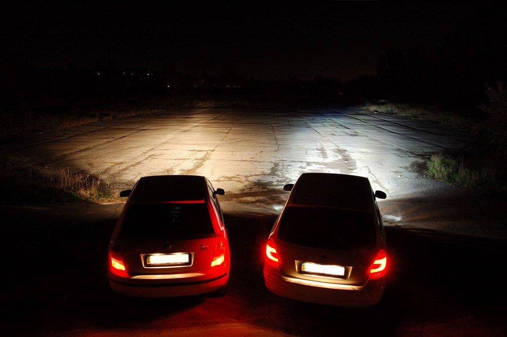Обычные лампы и ксеноновые лампы - сравнение