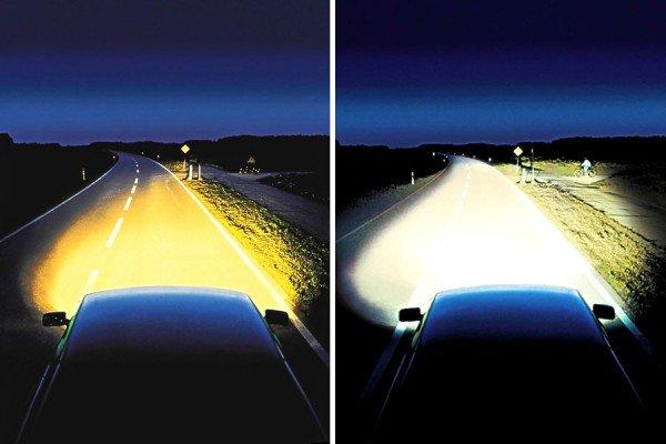 Ксеноновая лампа в авто