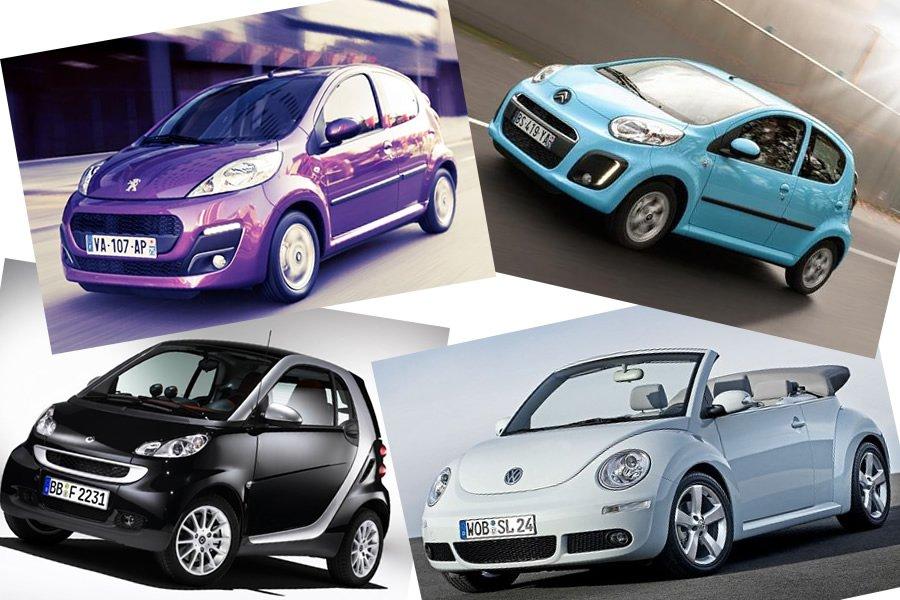 маленькие женские машины