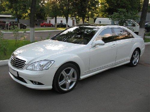Mercedes Ирины Салтыковой