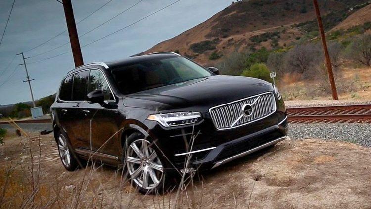 Технические характеристики Volvo XC90 2020-2021 модельного года