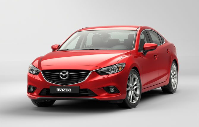 Mazda6 - открывает японский характер автомобиля