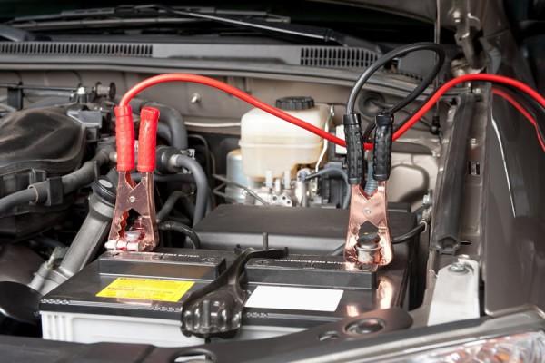 Фото медные провода для прикуривания аккумулятора