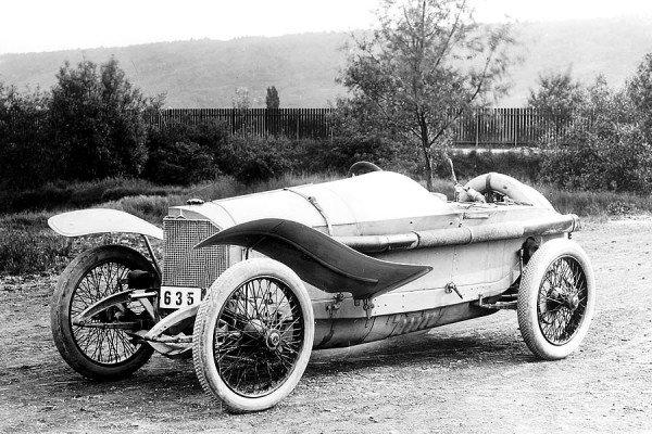 Mercedes 115 HP 1914 года