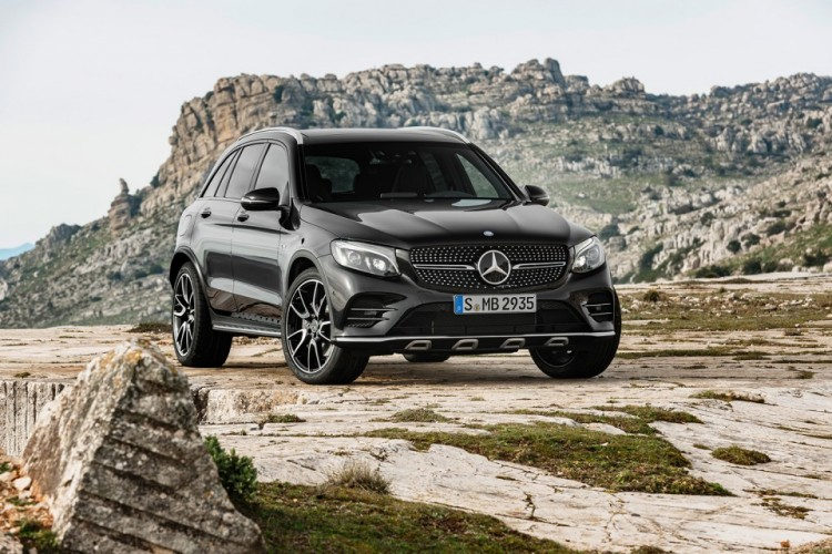 Mercedes-AMG GLC 43 4MATIC 2017 модельного года