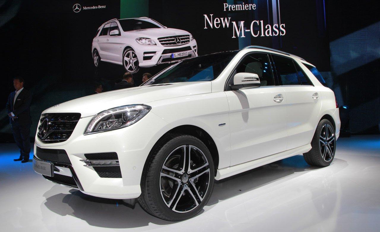 Mercedes-Benz M-Klasse - лучший вседорожник люкс 2017 года