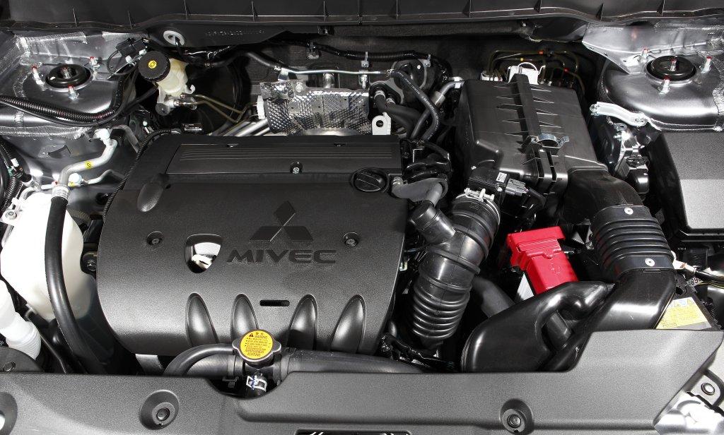 Двигатель Mitsubishi ASX  имеет приличные характеристики