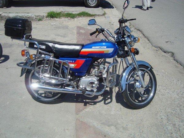 Скутер с 4-тактным двигателем