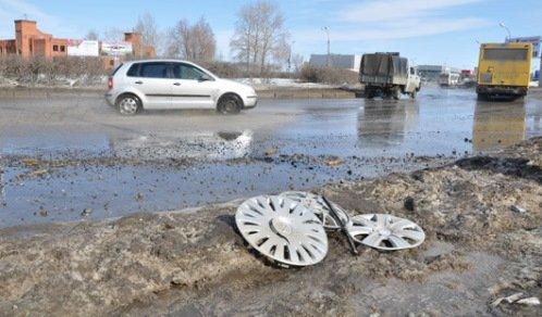 Такие дороги в России не редкость