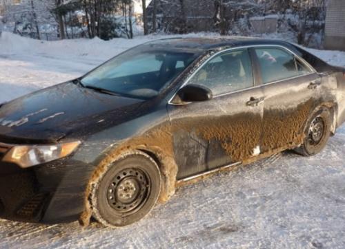 Внешний вид такого авто не оставляет выбора владельцу – автомобиль мыть надо и немедленно