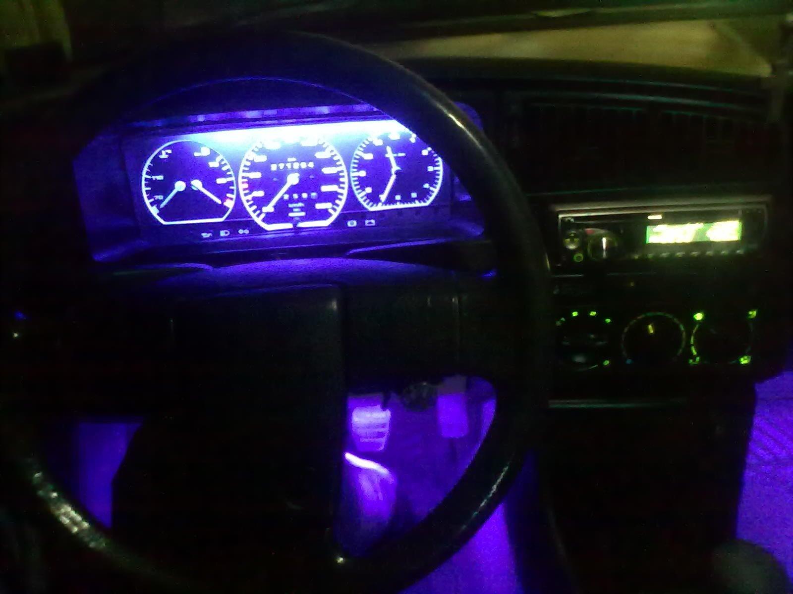 Неоновые лампы в подсветке приборов ВАЗ 2109