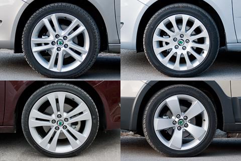 Низкопрофильные шины на автомобилях