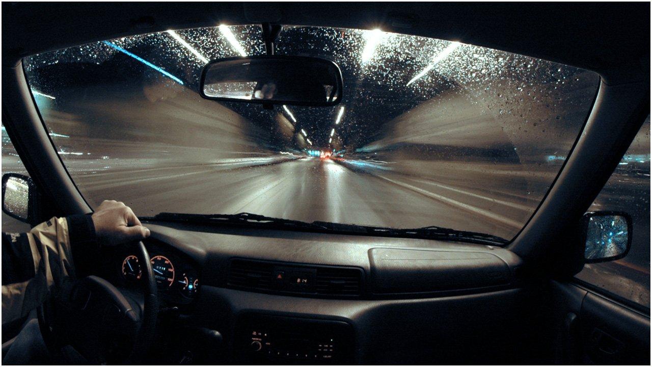 Ночью, езда на автомобиле приятнее и комфортнее
