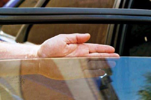 Через нормально тонированное стекло все хорошо видно
