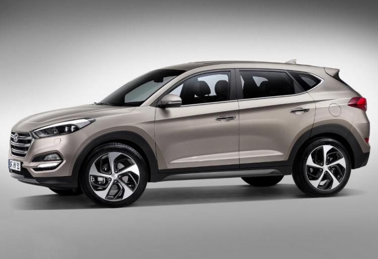Фотоснимок нового Hyundai Tucson 2016-2017