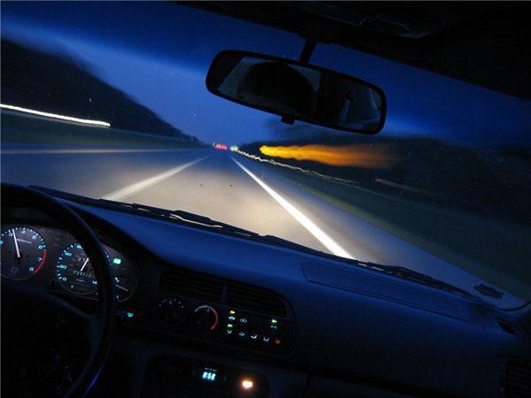 Ночная езда требует большей осторожности