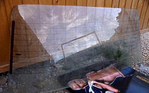 Ремонт обогрева заднего стекла