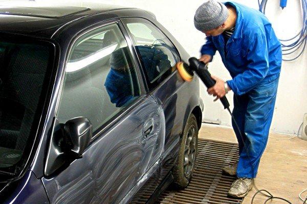 Обработка жидким стеклом кузова авто