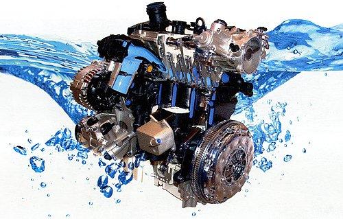 Охлаждающая жидкость необходима для двигателя