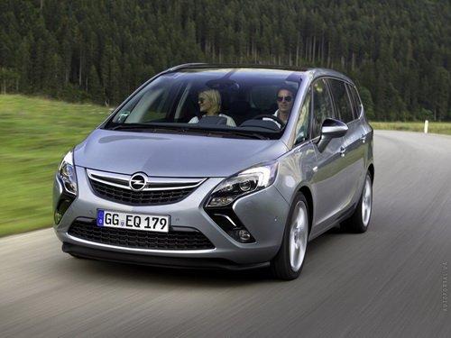 Так выглядит новый Opel Zafira Tourer