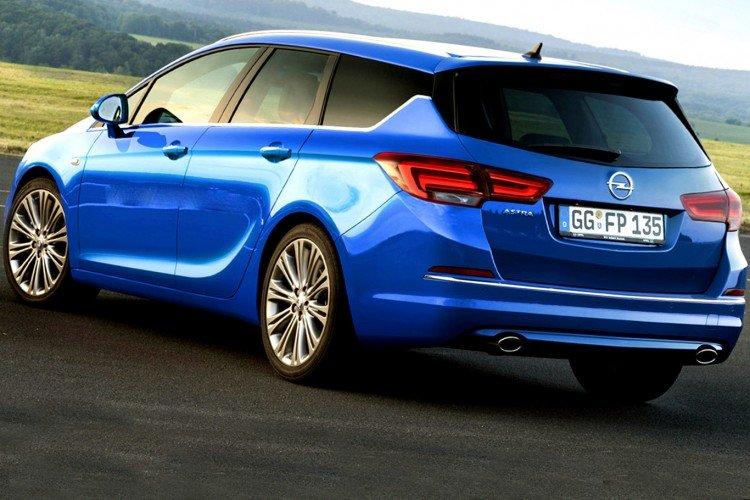 Технические характеристики Opel Astra 2016-2017 года