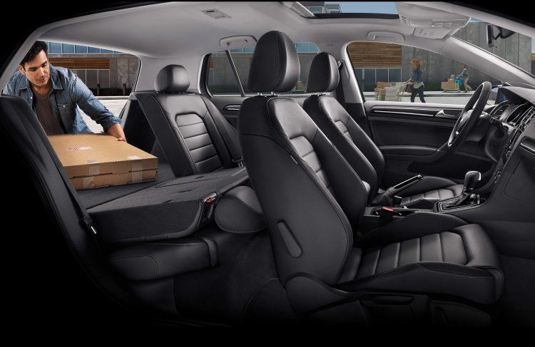 Со складными сиденьями объем багажника возрастает до 1460 литров