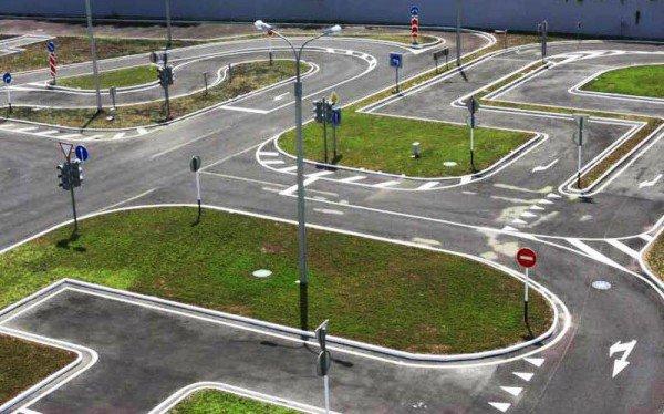 Автодром для обучения вождению