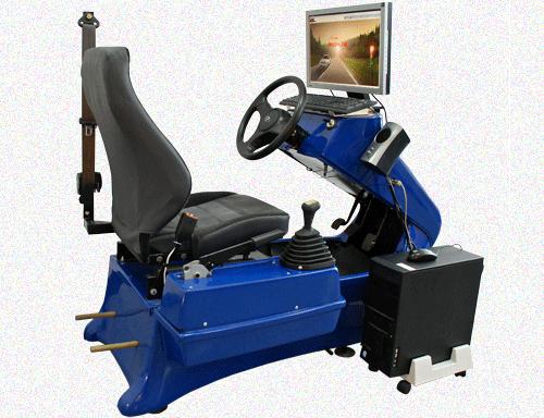 Современный педально-рулевой тренажер