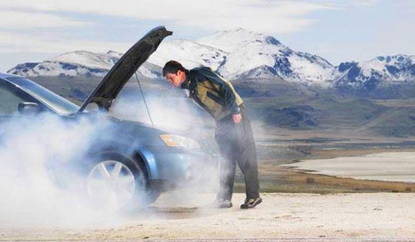 Перегрев двигателя - результат неправильной работы системы охлаждения