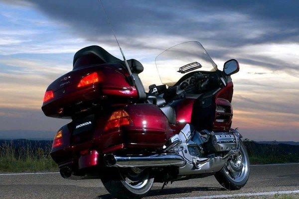 Неправильное управление мотоциклом