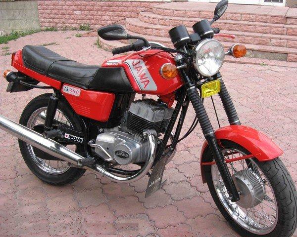 Мотоцикл с полуавтоматической трансмиссией