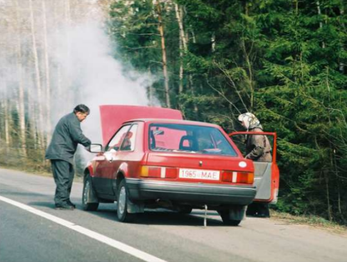 Перегрев двигателя в дороге - большие неприятности для водителя
