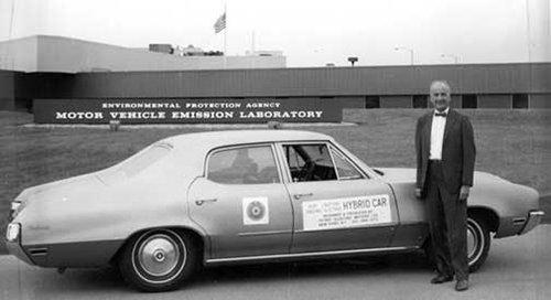 Один из первых гибридных автомобилей Buick Skylark