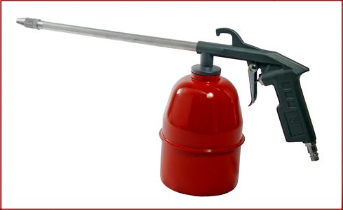 Специальный пистолет для нанесения мовиля