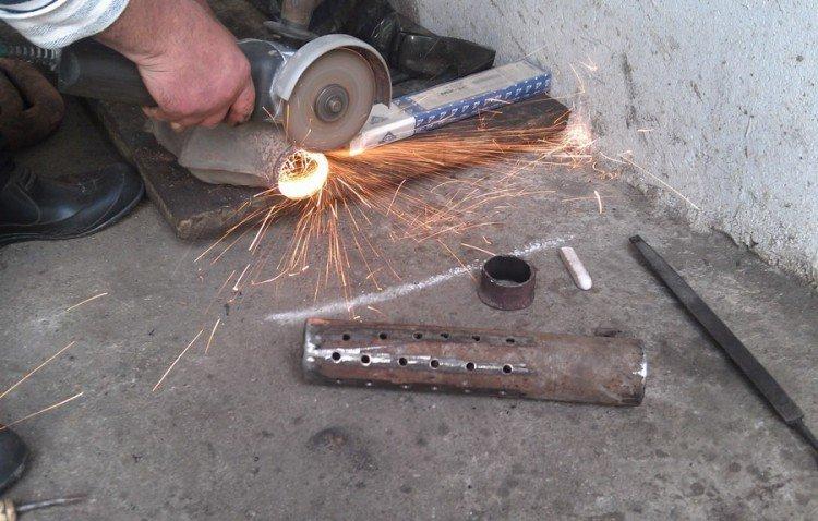 Как сделать пламегаситель своими руками