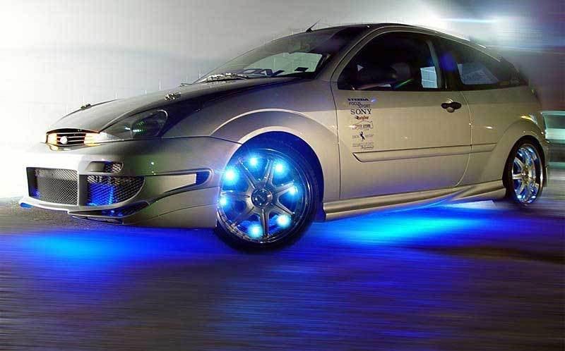 Подсветка дисков преображает автомобиль