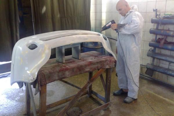 Подготовка бампера к покраске