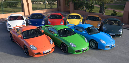 Все цвета радуги к услугам современных автовладельцев