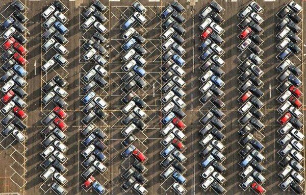 Правильная парковка искусство