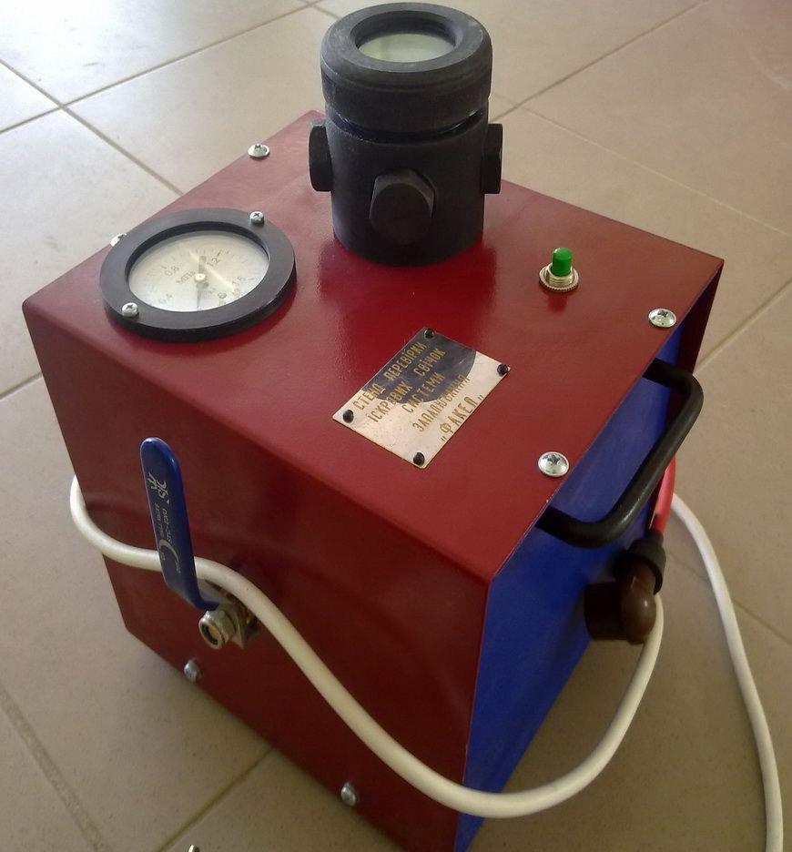 Прибор для проверки свечей зажигания
