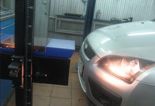 Таким прибором на СТО проверяют и регулируют фары на всех автомобилях