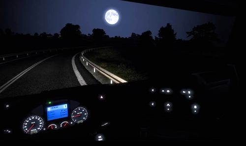 При ночной поездке свет от приборного щитка не должен мешать вождению