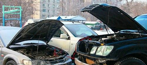 «Прикуривать» автомобиль нужно аккуратно