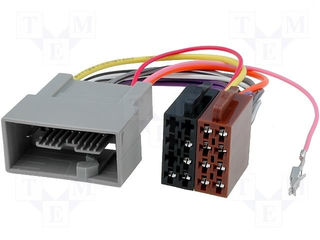 Комплект проводов от магнитолы к бортовой сети автомобиля и динамикам