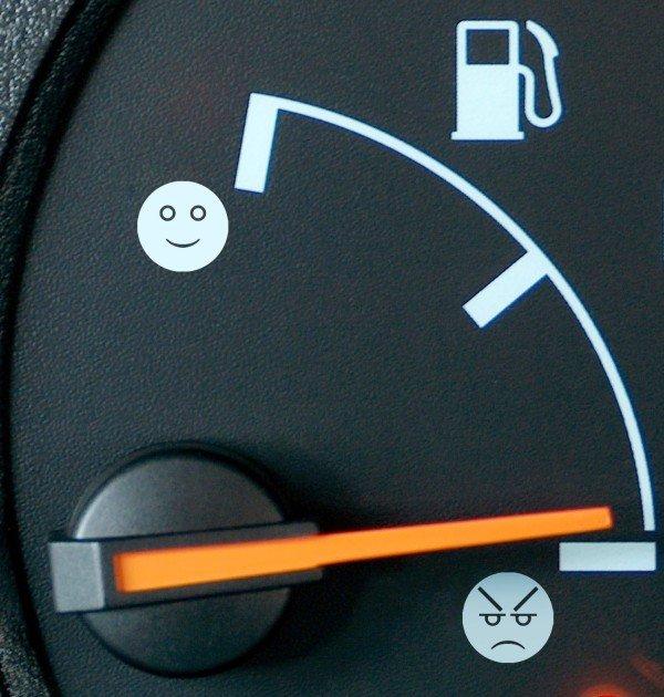 проверка бензина