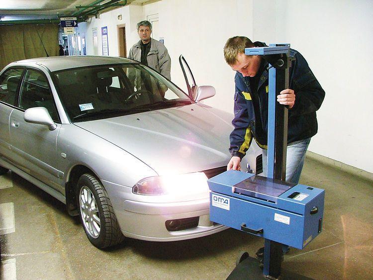 Проверка технического состояния автомобиля