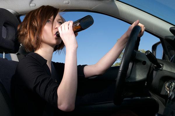 Управление автомобилем в состоянии алкогольного опьянения - запрещено